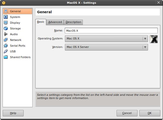 MacOS X on VirtualBox   Electricmonk nl weblog